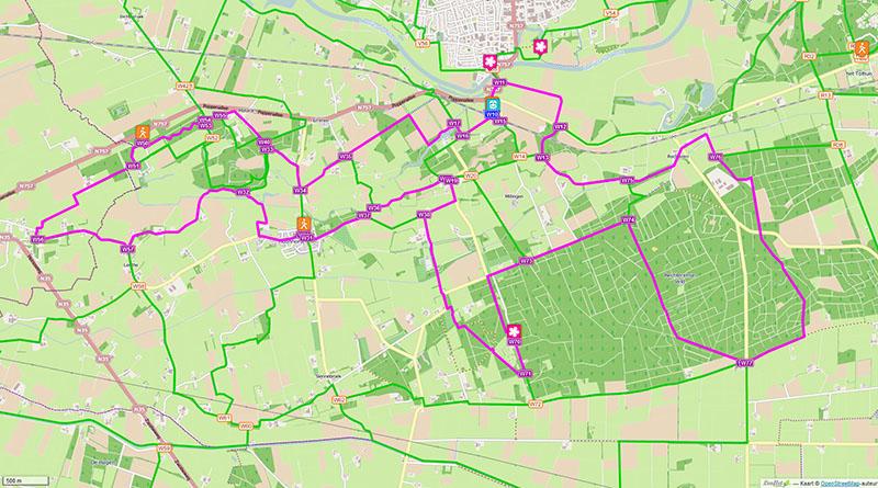 Route Dalfsen