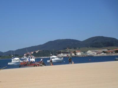 Pont op strand