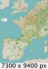 Kaart_Camino_vanuit_Nederland_icon-groot