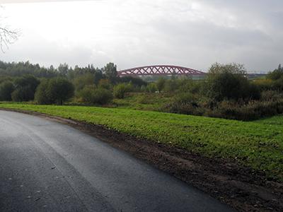 Spoorbrug Hanzeboog