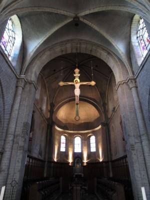 Romaans kerkje in Norbertijner Abdij Postel