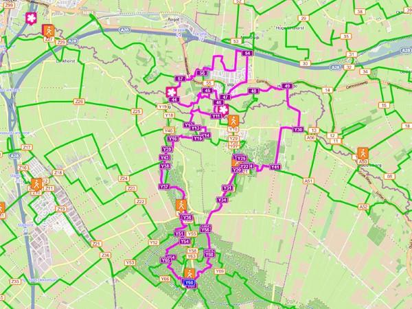 Route Staphorst - De Wijk